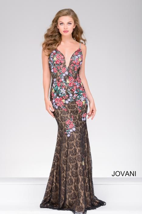 Check out the latest Jovani 48893 dresses at prom dress stores authorized  by the International Prom Association.