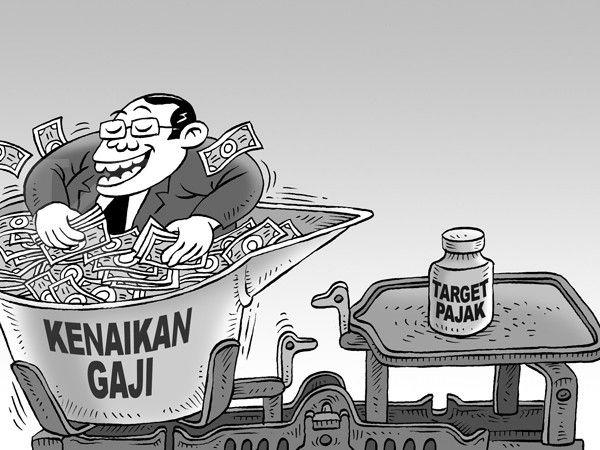 Kartun Benny, Kontan - Maret 2015: Target Tidak Tercapai, Bonus Pegawai naik Tinggi