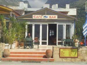 Plakias town Joe's Bar!