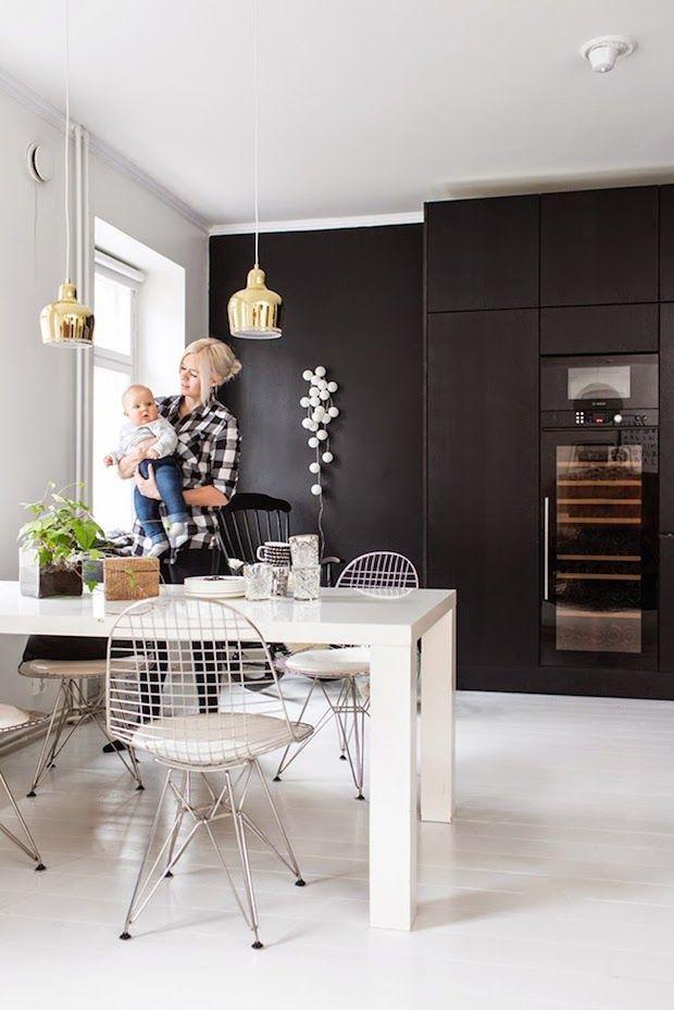 A monochrome home in Helsinki, Finland