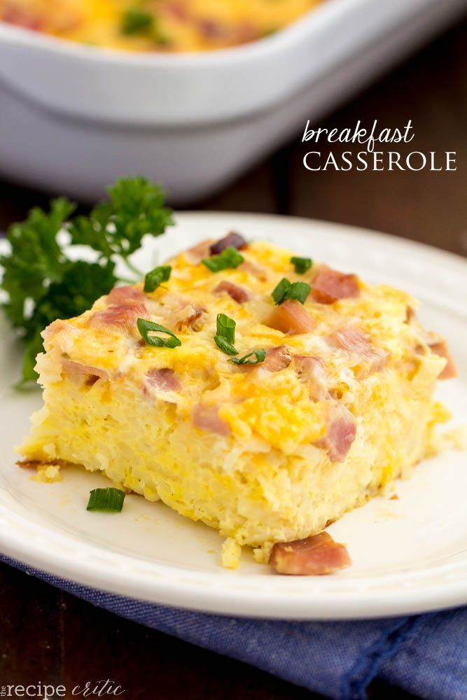 When they tell you that this is the BEST breakfast casserole it's no joke. They've made a few breakfast casseroles in their day and this one became an instant favorite!!