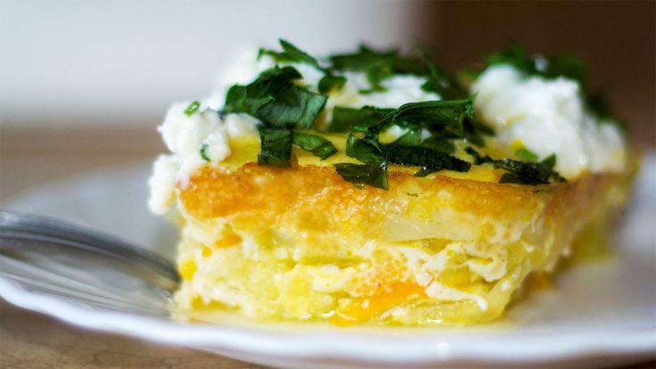 Запеканка из кабачков в духовке с сыром | Zucchini and Cheese Baked Pudding