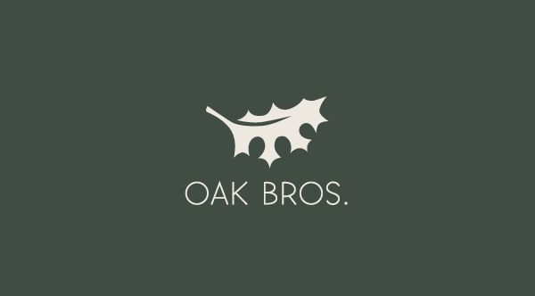 Oak Bros. by Luma Vine Creative, via Behance
