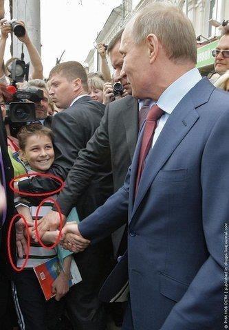 「プーチン大統領と握手するのは、こういうことなんだ…」:らばQ