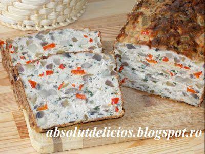 Absolut Delicios - Retete culinare: CHEC DIN CARNE DE PUI CU CIUPERCI, MASLINE…