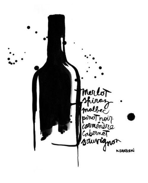 le vin encre
