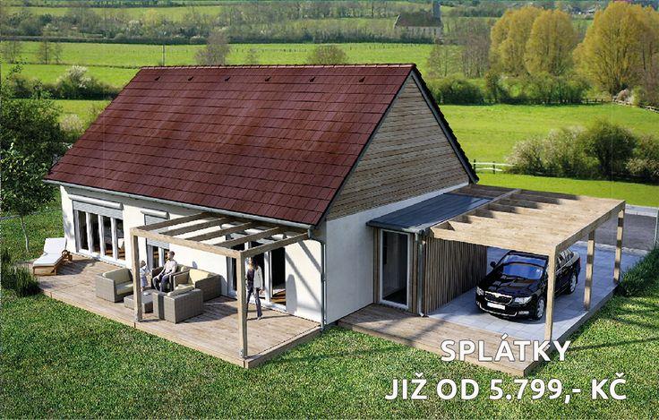 Plánujete velkou rodinu a chcete krásně bydlet? :) Tak právě pro vás je tento dům Goopan P82, který má 82.4 m2 podlahové plochy s dispozičním řešením 3+kk a krásnou venkovní terasou :) Dům má velmi nízké měsíční náklady na provoz :) A cena? Tento dům můžete mít díky speciální Goopan Hypotéce již od 5.799,- Kč měsíčně :) Pokud chcete vědět jak na to, navštivte www.goopan.cz