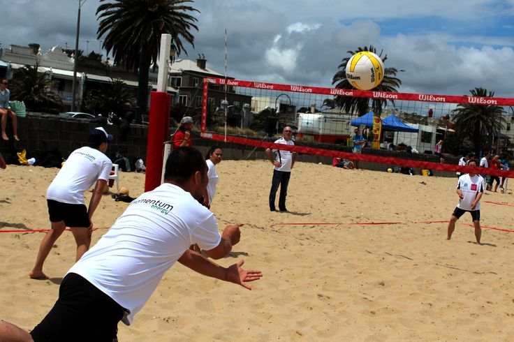 Netball and Volleyball Corporate Games