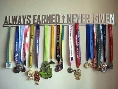Hang medals under trophy shelf if kids do sports. Aidan ...