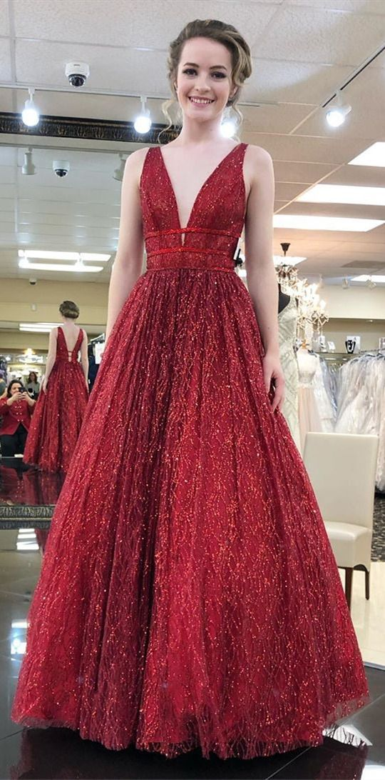 951af84e210 formal red long evening dresses for teens, luxury sequins senior prom  gowns,unique backless prom dresses #dressestime #promgowns #longpromdresses