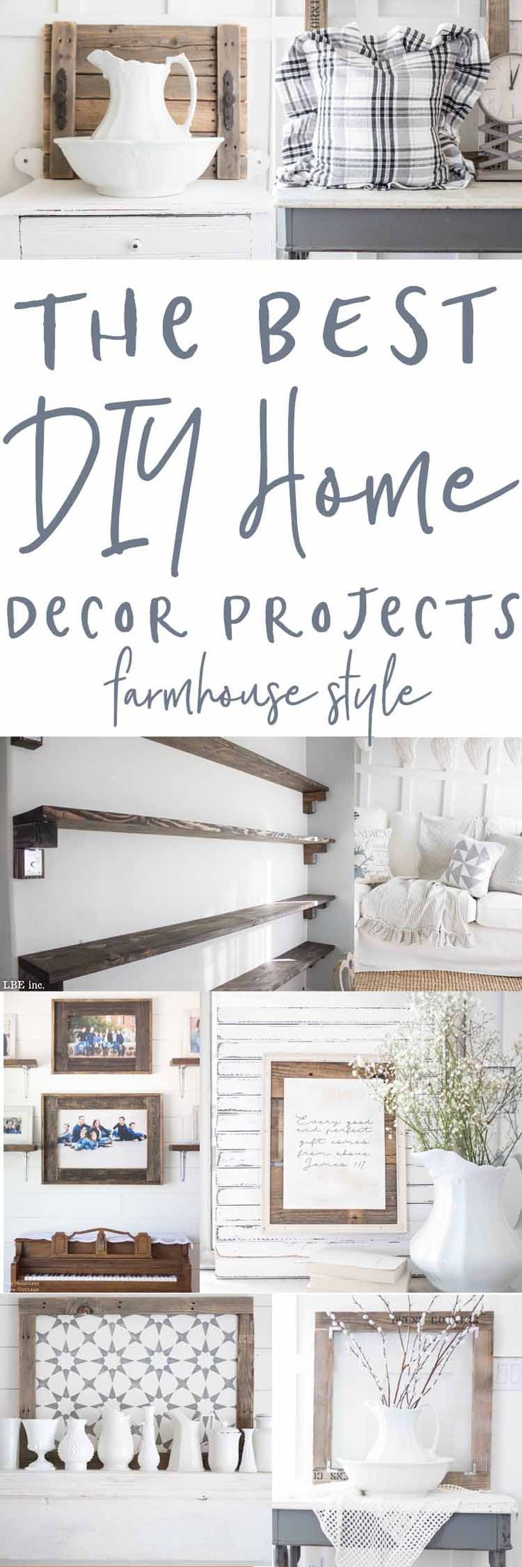Home Decor Projects - Farmhouse Style