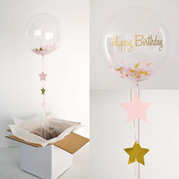 Regala este globo para sorprender y felicitar a una persona muy especial. Texto personalizado.