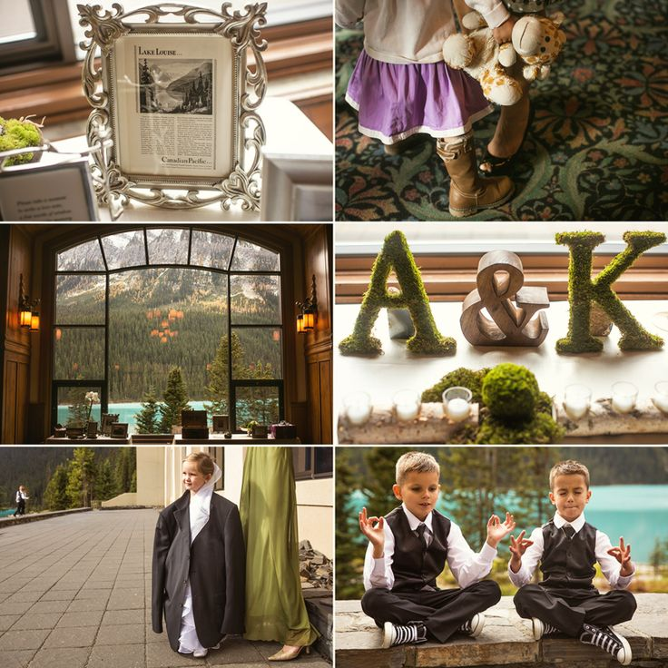 wedding+decorations+lake+louise