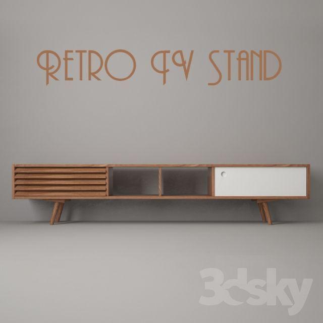 Retro Tv Stand N5 Fernsehtisch In 2020 Retro Tv Stand Tv Furniture Tv Stand Decor