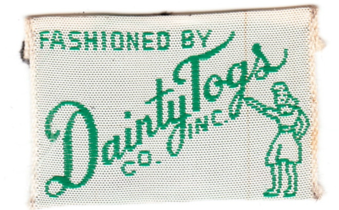 Vintage Clothing Designer Labels Inc vintage clothing label