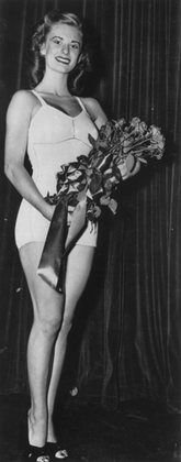Cloris Leachman Age 20 - Miss Chicago