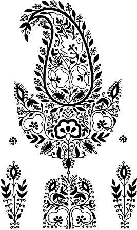 Индийский орнамент MR