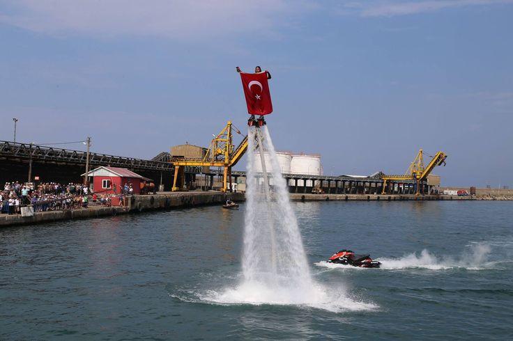 İnebolu 6. Uluslararası Heyamola Deniz Şenlikleri'nden