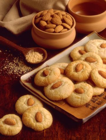 chinese food recipes | Chinese Almond Cookie Recipe