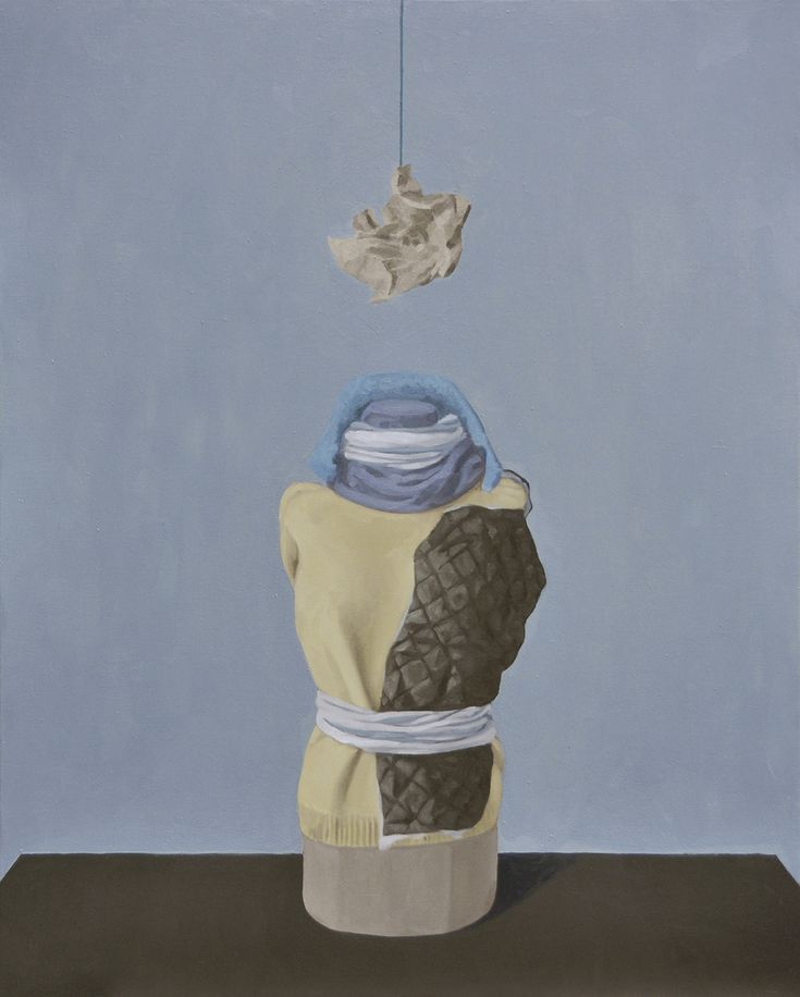 Giorgio Silvestrini - 2014 oil on canvas - 162 x 130 cm www.evahober.com