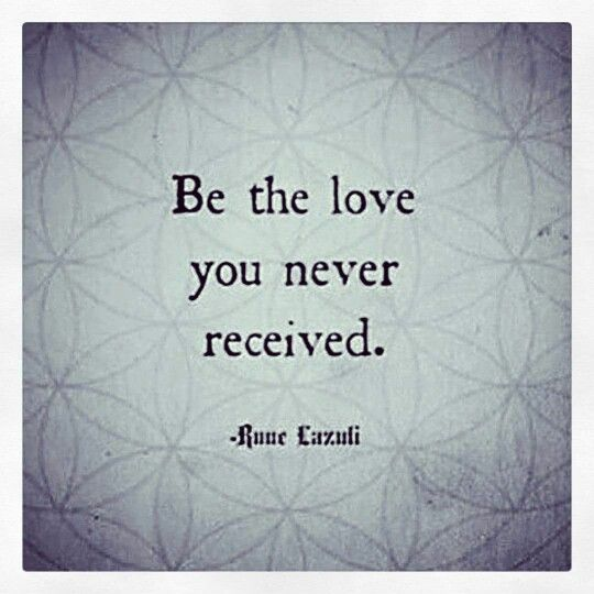 be the love
