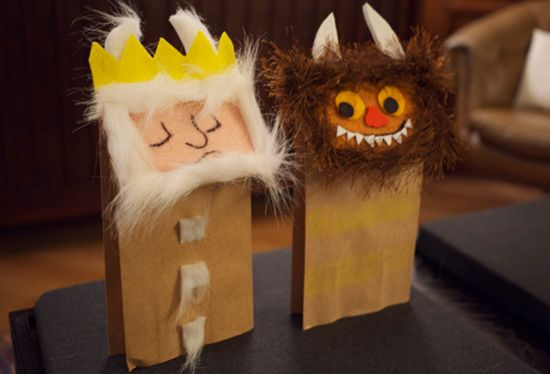 wild things puppets