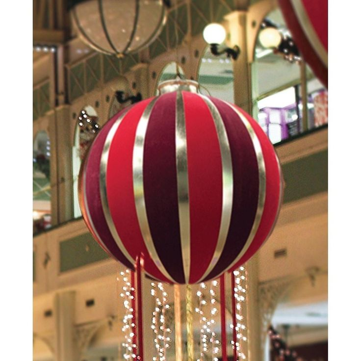 Bethlehem 7.5' Red & Gold Inflatable Commercial Christmas Decoration