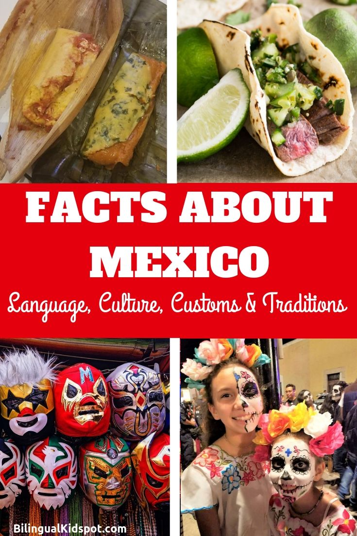 Facts about Mexico: Mexican Language, Culture, Customs & Traditions