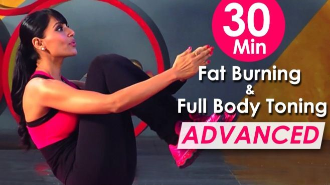 30 Dakikalık Yağ Yaktıran Egzersiz Programı - Evde yapabileeğiniz 30 dakikalık yağ yaktıran kolay ve faydalı egzersiz programı (30 Min Fat Burning & Full Body Toning Workout Bipasha Basu Video)