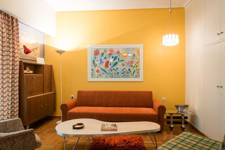 60's Style Apartment by Strefi Hill περιοχή Στρέφη Εξάρχεια.