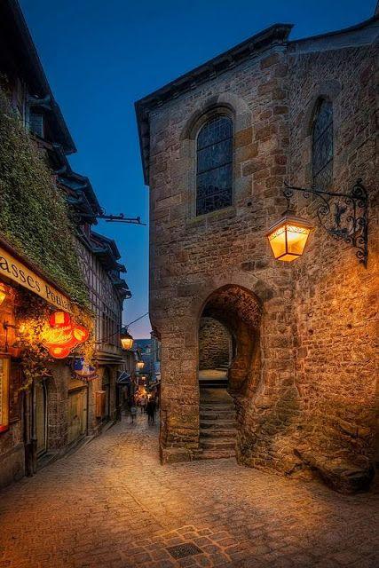 Mont Saint-Michel, Baja Normandía (Francia): Uno de los Lugares más Bellos del…