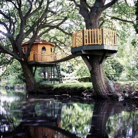 Can I live here?! Totally a childhood dream to live in a tree house
