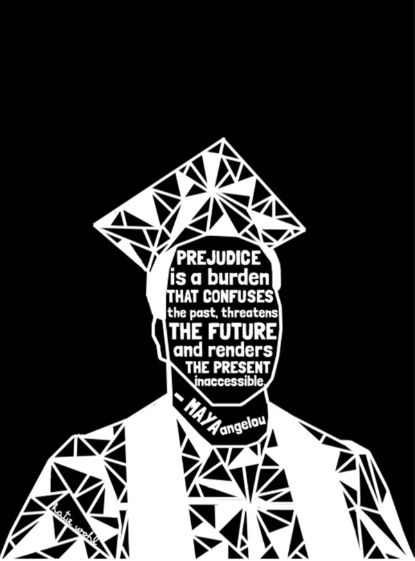 Michael Brown - Black Lives Matter - Series - Black Voices Art Print