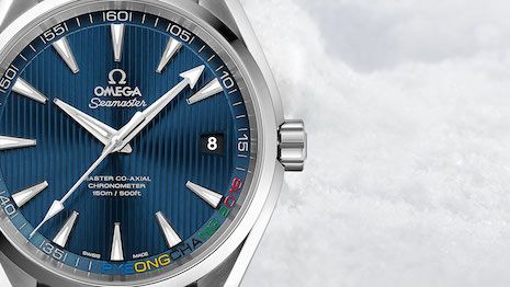 Luxury Daily Omega readies for 2018 Winter Olympics with commemorative timepieces  Omega Seamaster Aqua Terra Pyeongchang 2018 edition  Swiss watchmaker Omega has started the year-long countdown to the 2018 Winter Olympics in Pyeongchang South Korea.  Omega has a long history of Olympic involvement and is the international sporting events official timekeeper for both winter and summer games. Next years Olympics in Pyeongchang will be the 28th time Omega has conducting the timekeeping for the…
