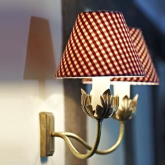 Double Tulip Wall Light made by Jim Lawrence