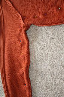 la vie en rose: DIY: Sweater Refashion (2)