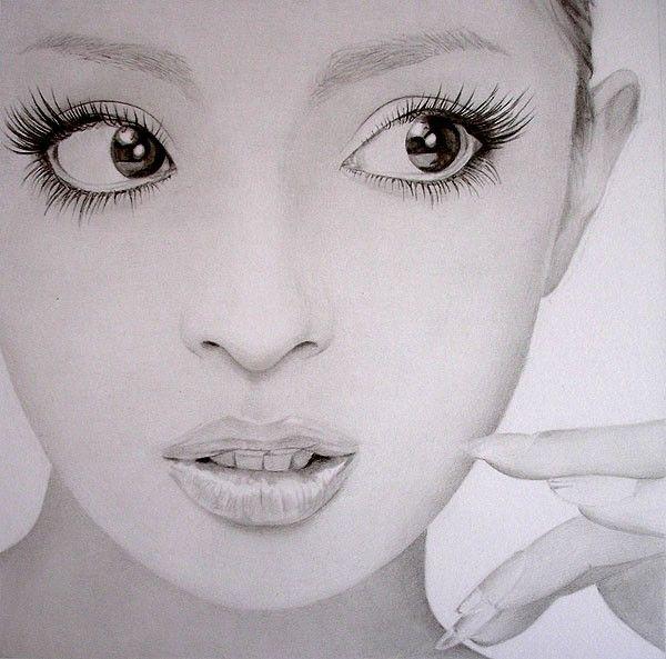 Эта фотография также находится в каталоге: рисунки девушки карандашом и красивые рисунки аниме карандашом