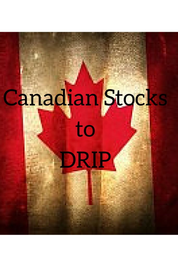 Canadian Stocks to DRIP