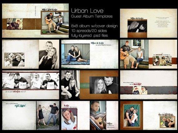 Wedding Photo Book Templates Photoshop