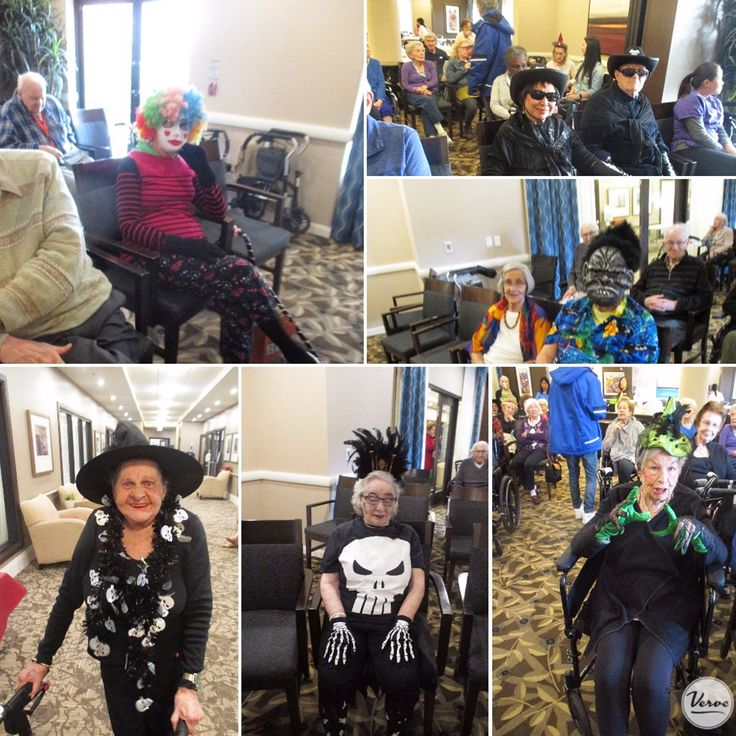 Spooky times at Four Elms Retirement Residence! 👻😱 #Halloween