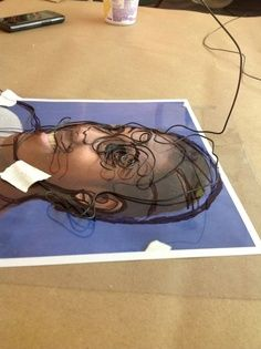 high school wire sculpture projects - Google Search