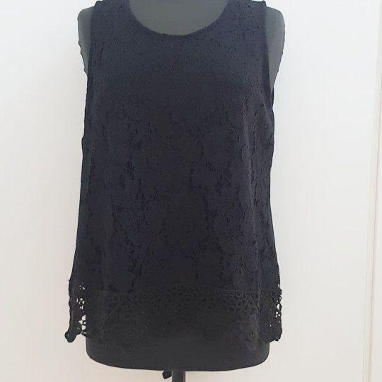 #canotta #nera #merletto #special #priceeee #valeria #abbigliamento