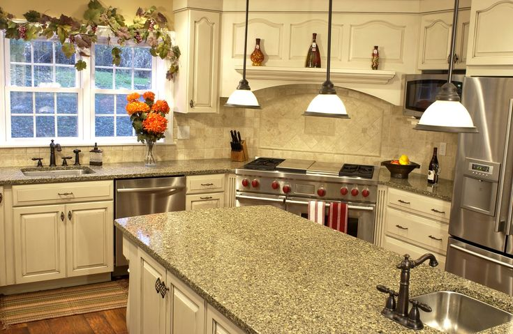 cool 7 Materials For Creating The Perfect Kitchen CountertopKitchen ...