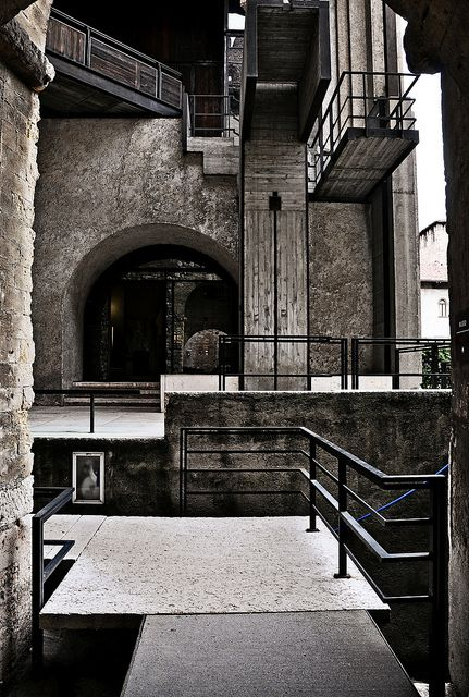 Carlo Scarpa (Italian, 1906-1978) | Museo Civico di Castelvecchio | Verona, Italia | 1959-1973