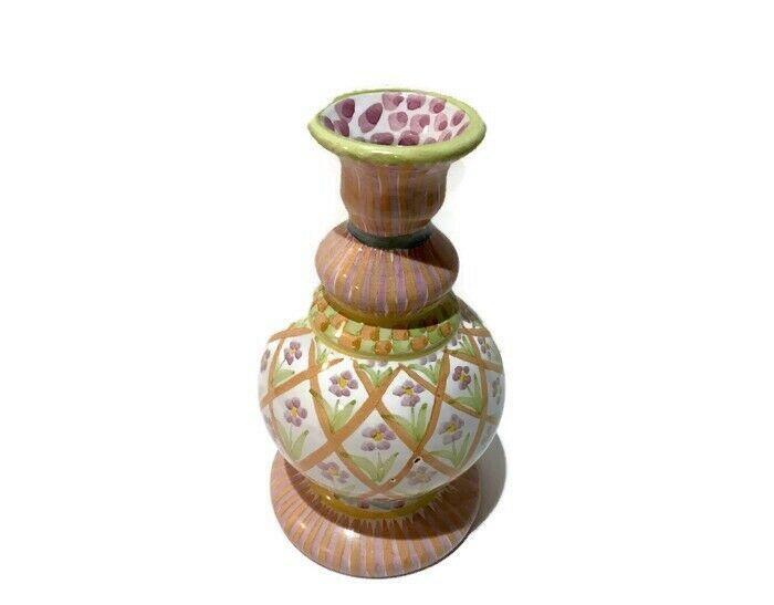 Summer Frock Candlestick Holder Vase