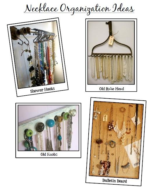 DIY Jewelry Storage Ideas!