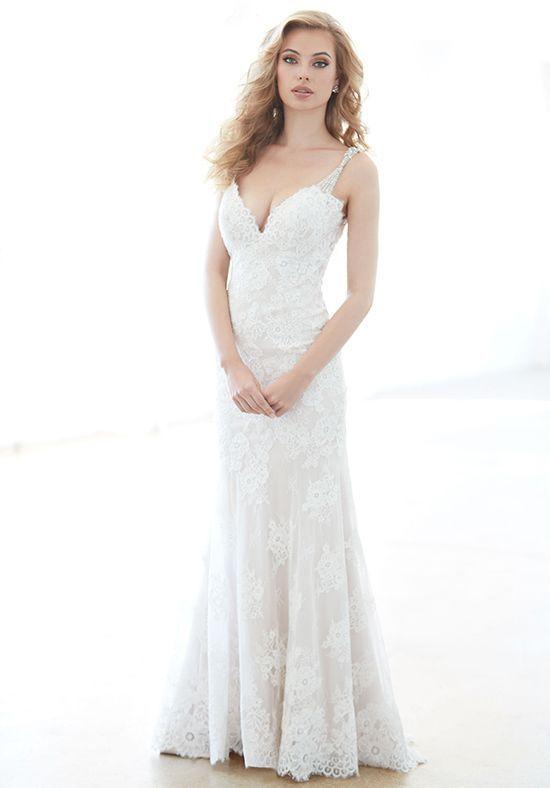 Cute Madison James MJ Sheath Wedding Dress Tampa FloridaMadison