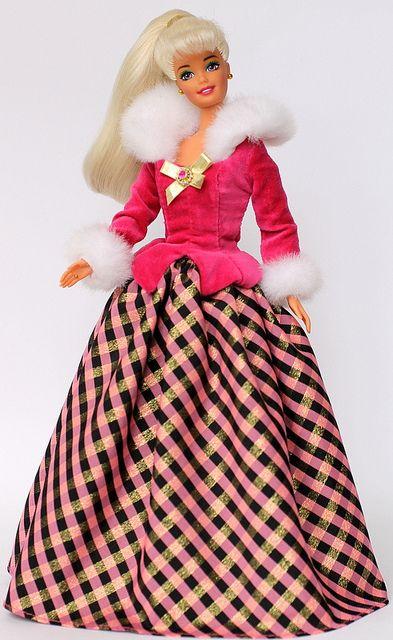 Winter Rhopsody Barbie by AVON, 1996 by fashiondollcollector, via Flickr
