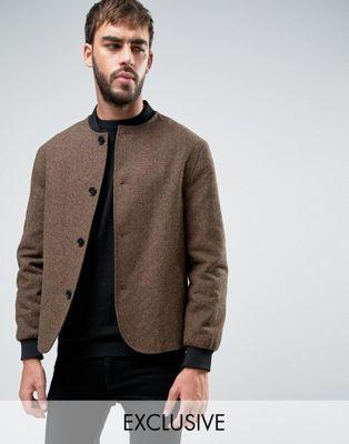 Heart & Dagger High Break Tweed Jacket