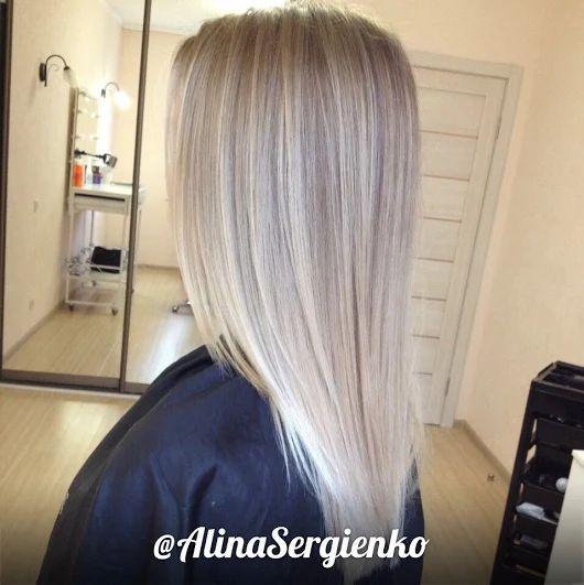 🎀 Блонд в нежном, мягком цвете 🎀    Окрашивание волос - один из самых простых способов обновить свой имидж и добавить в свой образ весеннего настроения.... - Елена Сергиенко - Google+